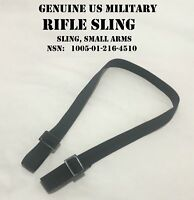 """US MILITARY ISSUE 2 POINT UNIVERSAL WEAPON RIFLE SILENT SLING USGI 1 1/4"""" WIDE"""