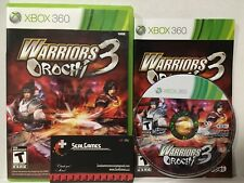 Warriors Orochi 3 (Microsoft Xbox 360, 2012) COMPLETE Cib Very Good