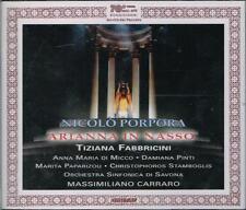 Porpora: Arianna in Nasso / Carraro, Di Micco, Pinti, Paparizou, Stamboglis - CD