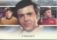 Star Trek Quotable Movies Bridge Crew Transition Chase Card T7 Chekov