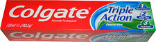 1 TUBE OF COLGATE TOOTHPASTE - TRIPLE ACTION TOOTH PASTE WITH FLUORIDE 125ML