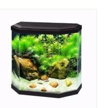 25 Litre Black Ciano Fish Tank With LED Light