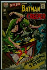 DC Comics The BRAVE And The BOLD #80 BATMAN And The Creeper Adams Art VG 4.0