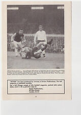 Player Pic from Football booklet c1963 - Byrne WEST HAM - OFK BELGRADE
