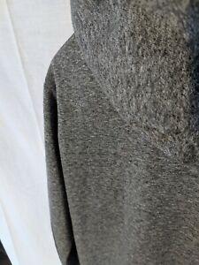 American Apparel Hoody Hoodie Medium Peppered Grey