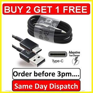 Samsung Galaxy A02 A21s A12 A71 A51 A40 A90-5G Fast Charger USB Data Cable Lead