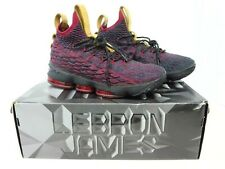 Nike LeBron 15 XV Mens Sz 9.5 Atomic Red New Heights Athletic Shoes 897648-300