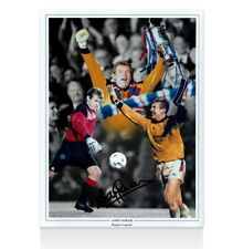 Andy Goram Signed Photo - Rangers Legend - Montage Autograph