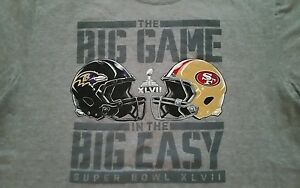 Baltimore Ravens vs 49ers Super Bowl XLVIII,The Big Game In The Big Easy T-Shirt