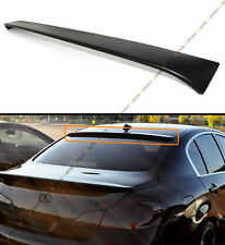 VIP SPORT STYLE REAR WINDOW ROOF SPOILER FIT FOR 2009-15 INFINITI G25 G37 SEDAN