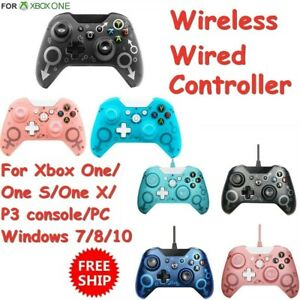 Wired/ Wireless Game Controller Gamepad for Xbox One PS3 Windows  PC Playstation