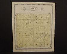 Nebraska Pierce County Map Slough Township 1920 P6#19