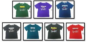 NFL Gerber Girl's Toddler Tee Shirts Girl's Sparkle