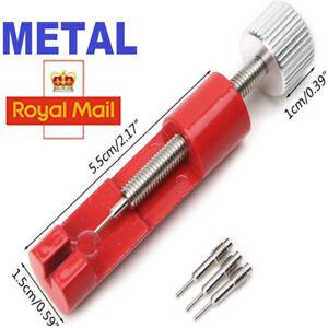 Link Watch Remover Strap Tool Kit Repair Bracelet Band Pin Adjuster Metal Opener