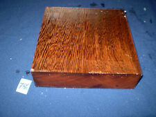 Yaya afrikanisches Hartholz  Drechselholz   200 x 195 x 52 mm   Nr. 786