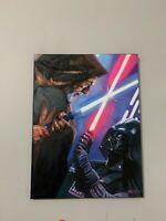 Ben Kenobi V. Darth Vader Star Wars 18x24 Pop Art Painting Chris Cargill