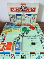 Monopoly Vintage Board Game By Waddingtons 1996 - Complete With Extras