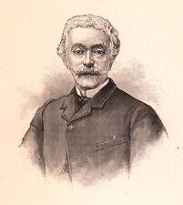 Portrait XIXe Édouard Lockroy Édouard-Étienne-Auguste Simon Journaliste