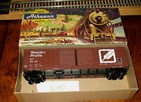 """Athearn 5077 HO Scale 50' Double Door Outside Braced Boxcar """"Western Pacific"""""""