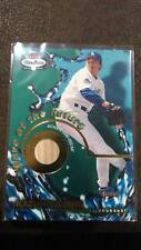 2002 FLEER BOX SCORE 'WAVE OF THE FUTURE' KAZUHISA ISHII DODGERS GAME-USED BAT!!