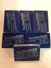 6-Decks Vintage Coors Light The Silver Bullet Playing Cards Factory Sealed New!