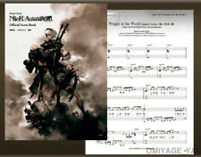 NieR automata Piano Collection Official Score Book Music Japan