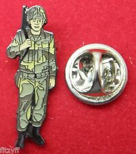 Army Lapel Hat Tie Cap Pin Badge Soldier Armed Forces Combat Fighter Brooch
