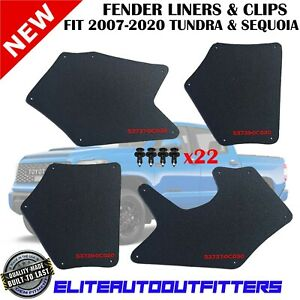 Splash Shield For 2007-2020 Tundra & Sequoia Fender Liner Apron Splash Guard