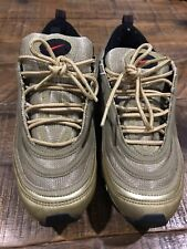 2005 Nike Air Max 97 GOLD US8 UK 7 USED VINTAGE SAFARI JORDAN PIGEON SUPREME DQM