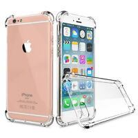 For Apple iPhone 8 Plus 7 6s TPU Case Cover Crystal Clear Shockproof Ultra-thin