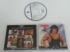 Rambo III/Bande Originale/JERRY GOLDSMITH (Scotti Bros. PCCY - 00325) Japon CD Album