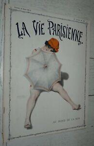 LA VIE PARISIENNE 09-08 1913 KIRCHNER PREJELAN MARKOUS VALLEE NAM