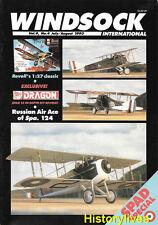 Windsock International V.9 N.4 Morane Saulnier Dragon Spad Hazet Italian Fabric