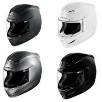 Icon Airmada Gloss Solid Full Face Street Motorcycle Helmet - Pick Color / Size
