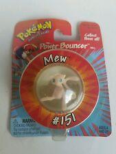 Pokemon Super Power Bouncer Ball w/t Mew Figure Hasbro 1998 *Unopened*