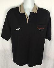Porsche Motor Sports Men's Puma Mobil 1 Short Sleeve Polo Shirt Sz M