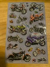 Motor Cycle Magnetic Stickers