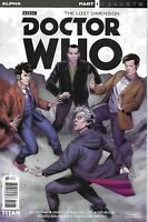 Doctor Who Comic Issue 1 The Lost Dimension Limited Variant Modern Age 2017
