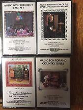 The Porter Twin Disc Music Box Phantom Of The Opera Children's Fantasy Christmas