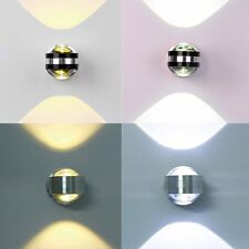 2W 3W 6W LED Wandleuchte Wandlampe Badleuchte rund LED Wandstrahler wohnzimmer