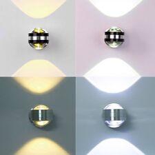 2W 6W LED Wandleuchte Wandlampe Wandstrahler wohnzimmer beleuchtung Aus Glas DE