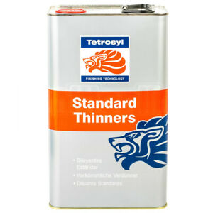 Tetrosyl Standard Paint Thinners Cellulose Cleaning Gun Cleaner Primer 5L