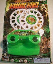 DINOSAUR 3D Viewer 28 Photo Images T-Rex & more Viewmaster knock off Viewer Set