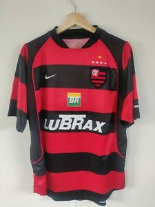 Flamengo Nike 2003/04 Home Football Shirt - Size UK Men's M