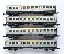 "ARNOLD 4 x Nahverkehrswagen ""Silberling"" (AB4nb-59), 1./2. Kl., 4-achs., N 3180"