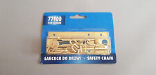 Safety Door Large Chain 80mm with add Screws High Security Guard Restrictor Lock