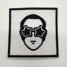 "ELTON JOHN Embroidered Iron On Patch 3 "" X 3 "" ROCKET MAN"