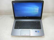 """HP ProBook 640 G1 14"""" Laptop 3.0GHz i7 8GB DDR3 256GB SSD Win 10 Pro x64 Grade B"""