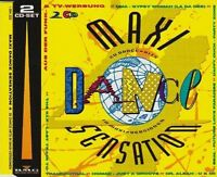 Maxi Dance Sensation 4 (1991) KLF, Simpsons, Dr. Alban, Nomad, Jamtroni.. [2 CD]