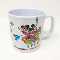 Disney Melamine Mug Walt Disney World Superware Mickey Minnie Donald Daisy WDW